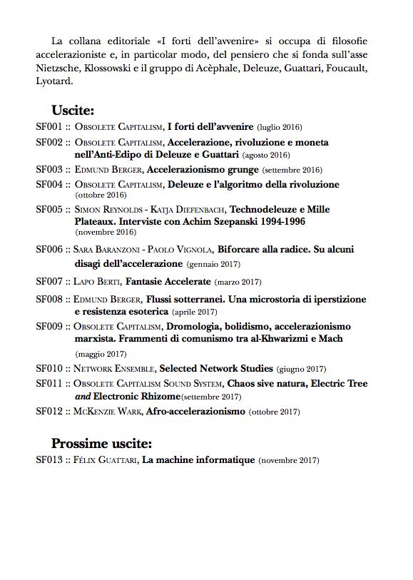 Variazioni foucaultiane: 2017