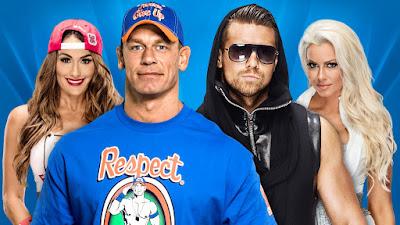 John Cena & Nikki Bella vs. The Miz & Maryse