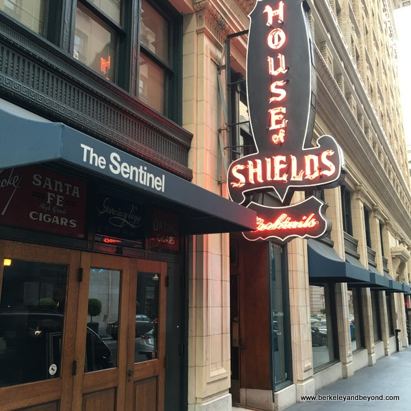 exterior of House of Shields in San Francisco