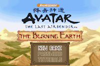 Download Avatar The Legend of Aang : The Burning Earth - For GBA