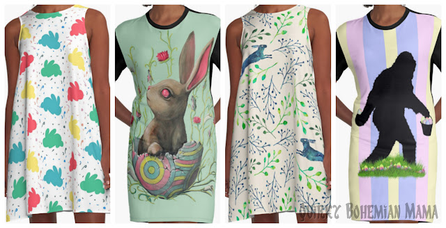 Unusual Easter Dresses for Women. Weird Easter. Easter art. Redbubble. Jelly bean dress. Easter egg dress. Easter costume. Funny easter art. Quirky easter.