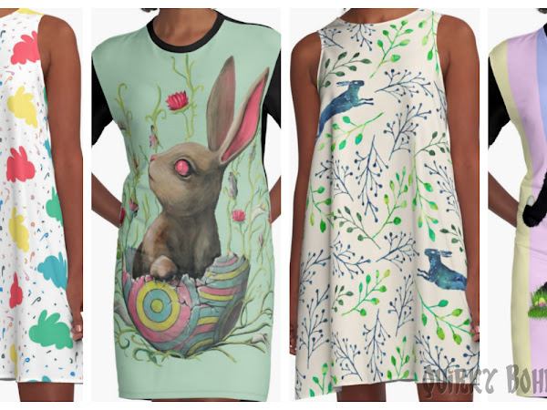 Quirky Easter Dresses for Art Lovers