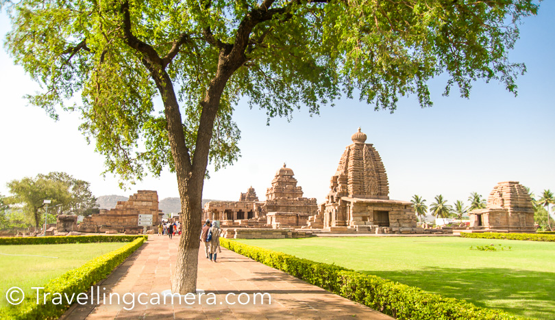 Pattadakal is very special place in north Karnataka when we talk about Heritage and Chalukya monuments. This UNESCO world heritage site is in Bagalkote district of Karnataka state of India and is easily approachable from Badami & Aihole. This place has temples from 7th & 8th century and most of these are Hindu or jain temples on the bank of Malaprabha river. I visited Pattadakal temples while I was on Karanataka tour and it was certainly a very special experience. This post shares more about Pattadakal Temples, some tips & other places to explore in this region of Karnataka state.    Pattadakal Temples in Karnataka - UNESCO World Heritage site with magical influence