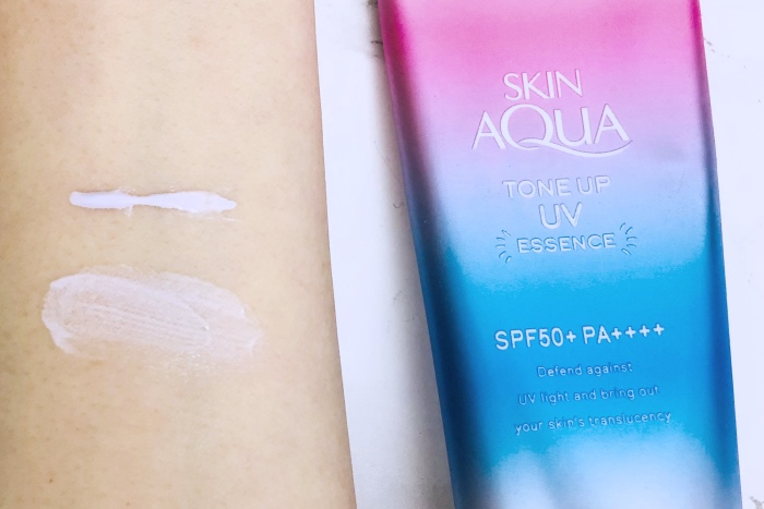 Skin Aqua Tone Up UV Essence review