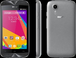 BLU Dash C Music D390l Android 4.4.2 KitKat