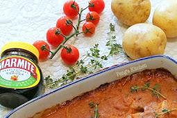 Potato & Pumpkin Marmite Gratin