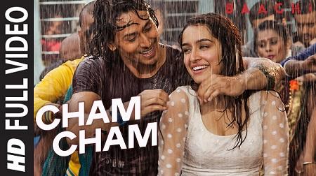 Cham Cham BAAGHI Tiger Shroff Shraddha Kapoor New HD Songs 2016 Meet Bros Monali Thakur