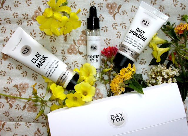 Daytox by Douglas: detox and hydration for the whole body. Hydrating H Serum, Daily Hydration face cream and Clay Mask review and result