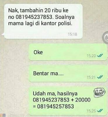 5 Chat 'Anak SD Zaman Now' yang Nyeleneh Banget, Manggilnya Udah Mamah-Papah
