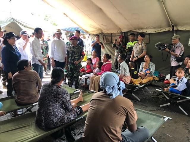 Presiden Kunjungi Banten, Pastikan Penanganan Pascabencana Tsunami Berjalan Baik