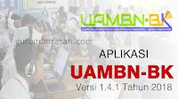 Aplikasi UAMBN-BK Terbaru Versi 1.4.1 Tahun 2018