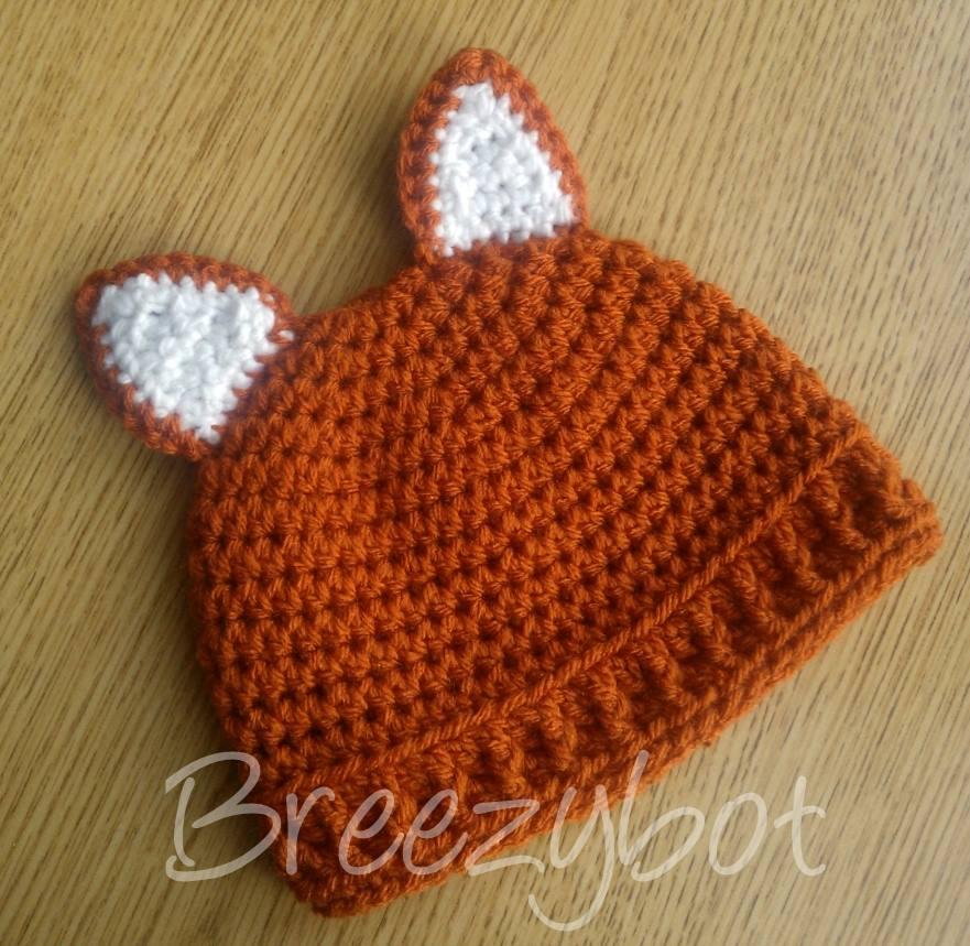 Breezybot  FREE PATTERN Baby Fox Hat e07f2271d76