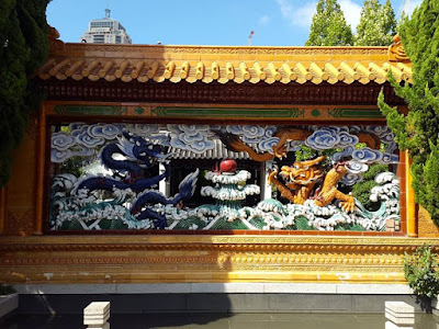 Dragon arts at Chinese Garden of Friendship Darling Harbour