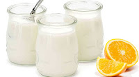 naranjas y yogurt para aclarar la piel