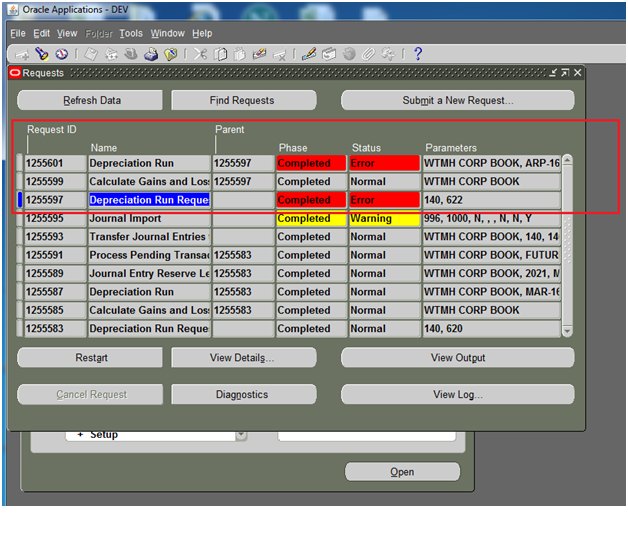 Oracle Apps: Fixed Asset Modules Issues & Solution in Oracle Apps
