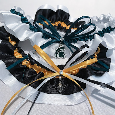 Custom Wedding Garters by Sugarplum Garters