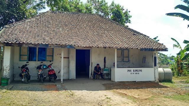 parkir Benteng Fort Willem II Ambarawa Semarang