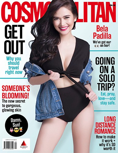 Bela Padilla Cosmopolitan April 2017 Cover Babe
