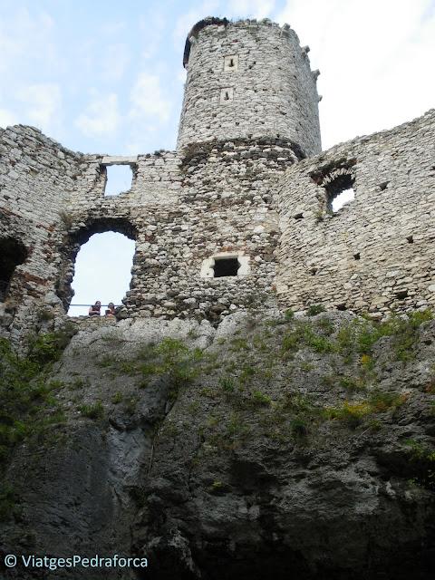 Ruta dels Nius d'Àliga, Zamek Ogrodzieniec, Polònia medieval