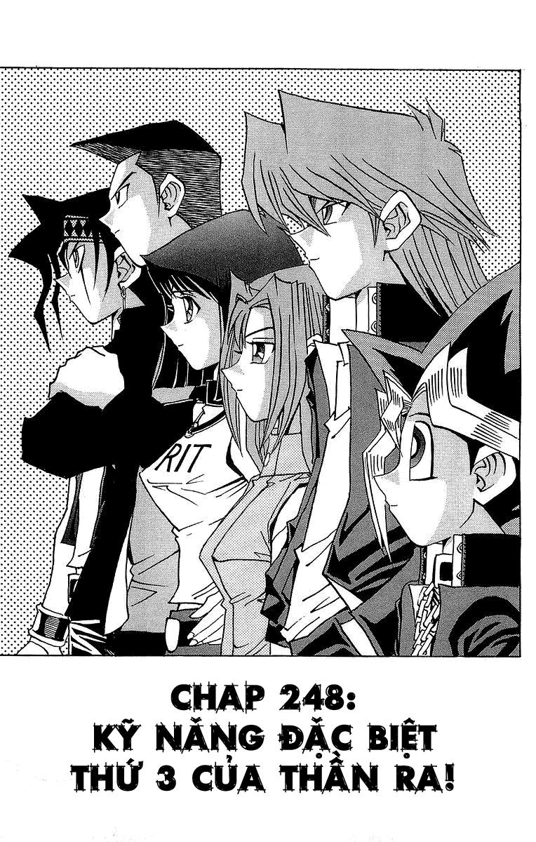 YUGI-OH! chap 248 - kỹ năng đặc biệt thứ 3 của thần ra trang 2