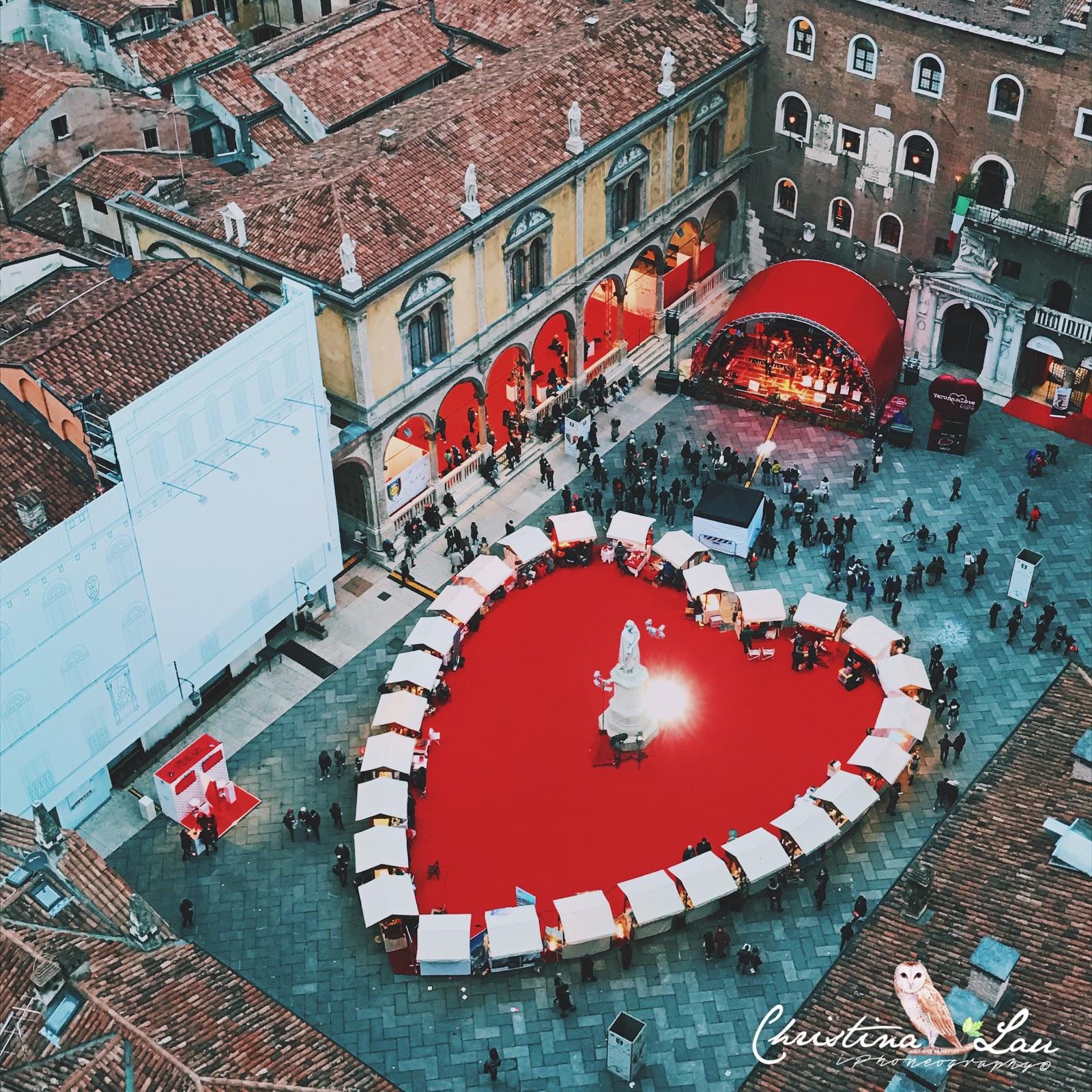 ■ 意大利維羅納的大紅愛心Verona in Love [義大利]