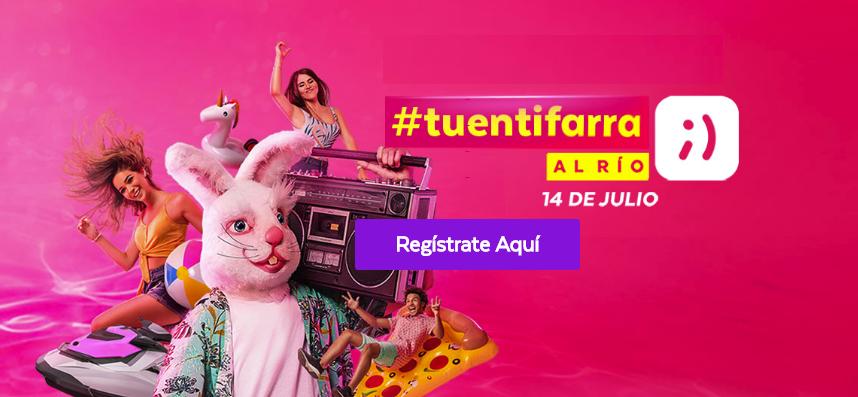 Consigue pases para la #TuentiFarra; la farra más increíble del año