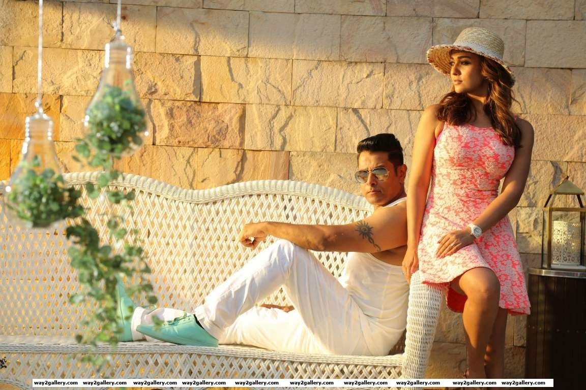The makers of Tamil film Iru Mugan released a new still from the Vikram and Nayanthara starrer