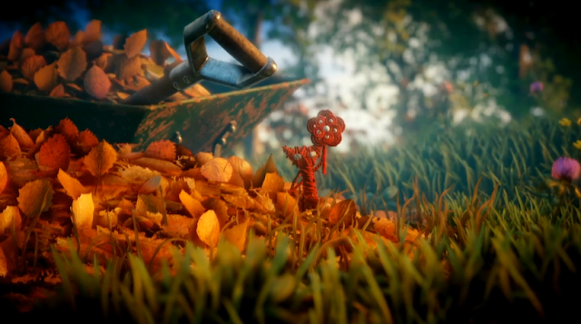 Unravel EA E3 2015 autumn leaves Yarny