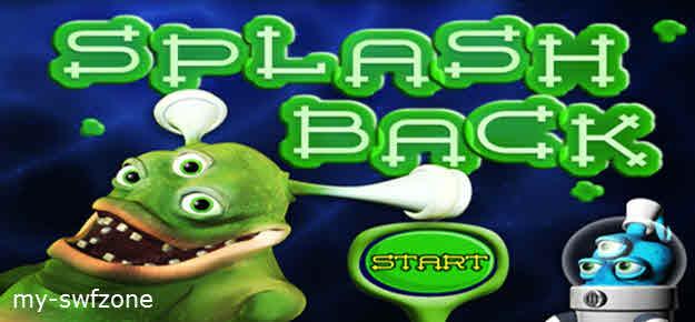 funny swf game seru, funny flash game asyik, splash back game .swf
