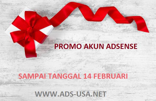 promo akun adsense murah