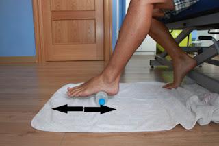 Fascitis plantar / Dolor planta del pie / Terapia en casa