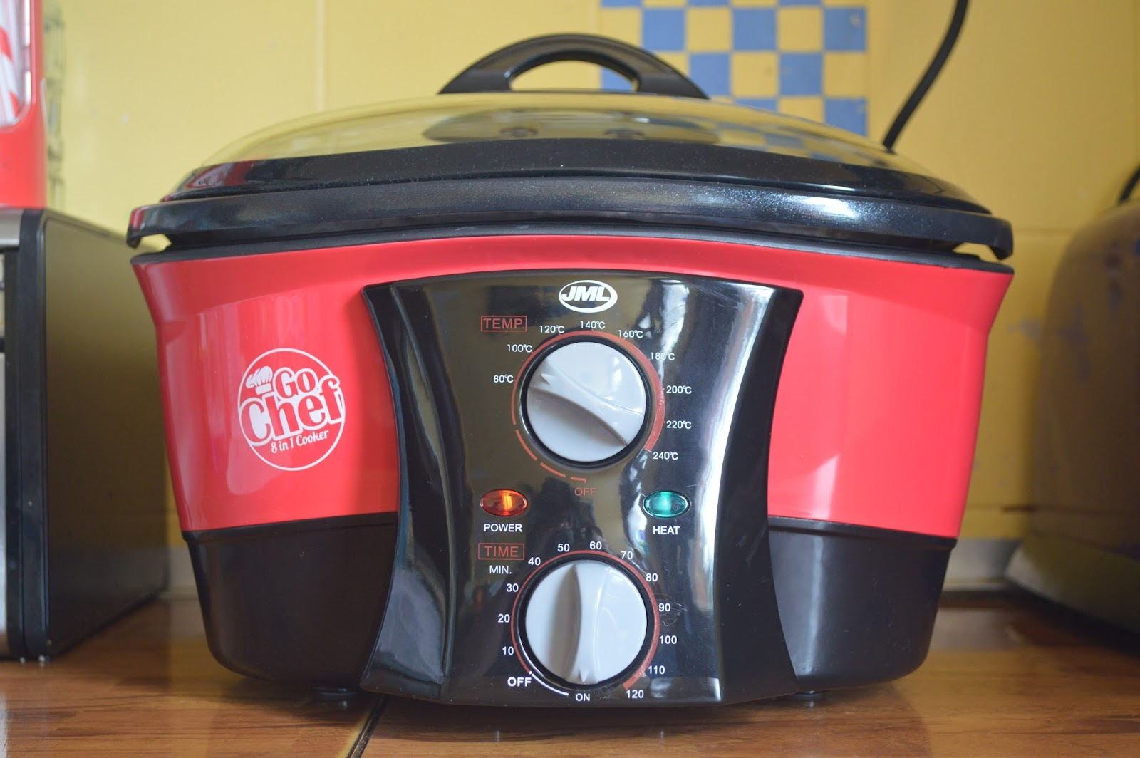 , Quorn and Mushroom Stew in the JML Go Chef 8 in 1 Cooker