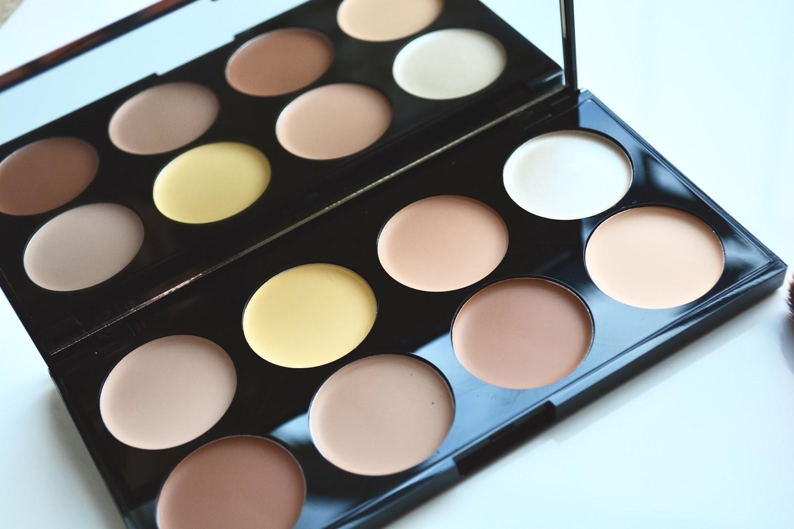 Makeup Revolution, Makeup Revolution Ultra Cream Contour Palette, Cream Contour, Contouring, Highlighting