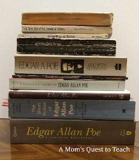 Books by and about Edgar Allan Poe
