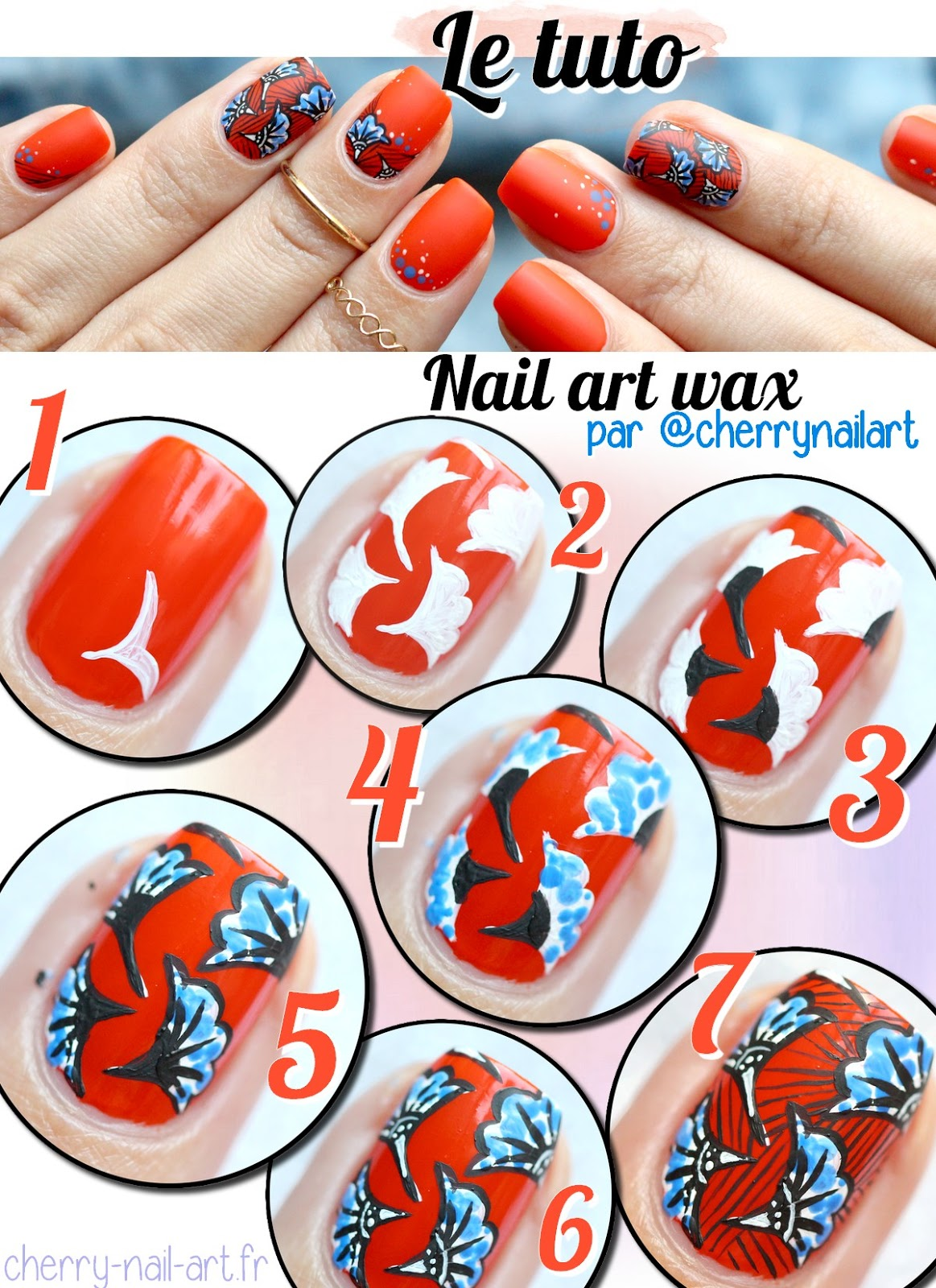 tuto-nail-art-tissu-wax-coloré