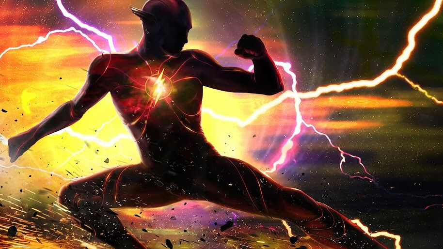 The Flash, Movie, Art, 2022, 4K, #3.2551