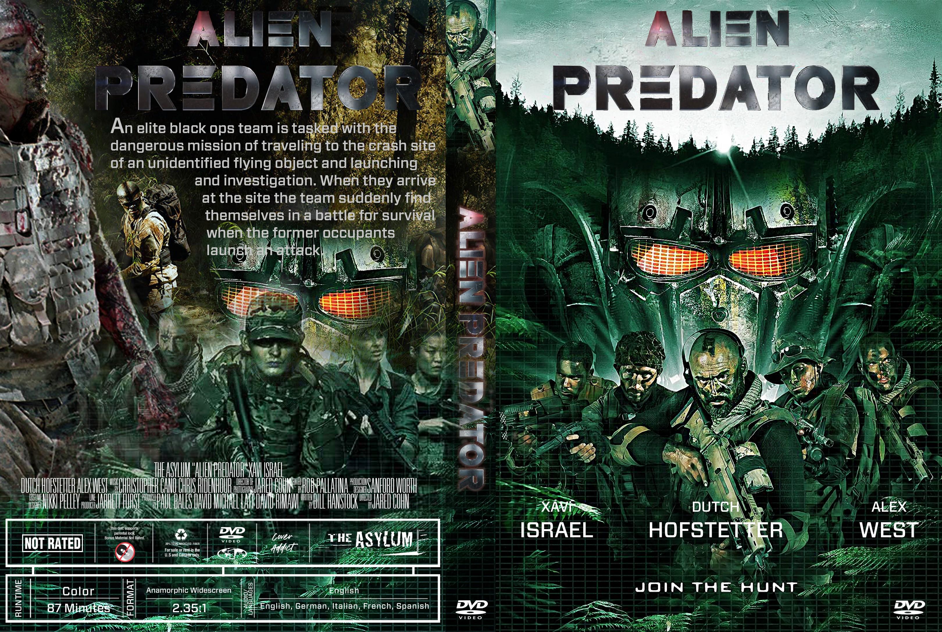 Alien Predator Dvd Cover Addict - Free Bluray