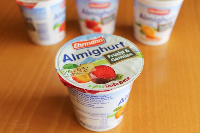 Almighurt Frucht&Gemüse Apfel Rote Bete von Ehrmann