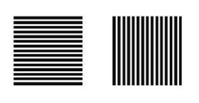 Ibercons arquitectura dise o las rayas en la decoraci n - Paredes rayas horizontales ...