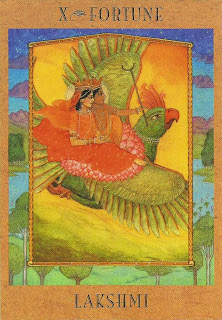 The Goddess Tarot | Lakshmi