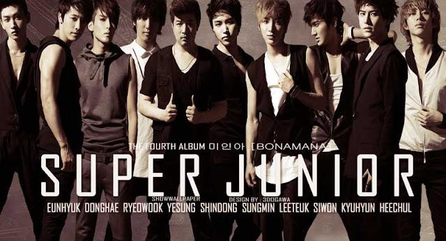 Foto BoyBand Super Junior (SUJU)
