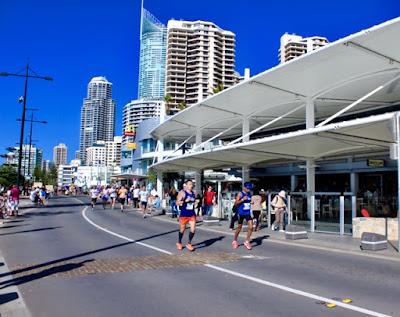 Gold Coast Airport Marathon Esplanade Surfers Paradise