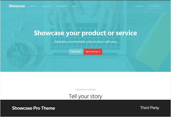 Showcase Pro Theme Award Winning Pro Themes for Wordpress Blog : Award Winning Blog