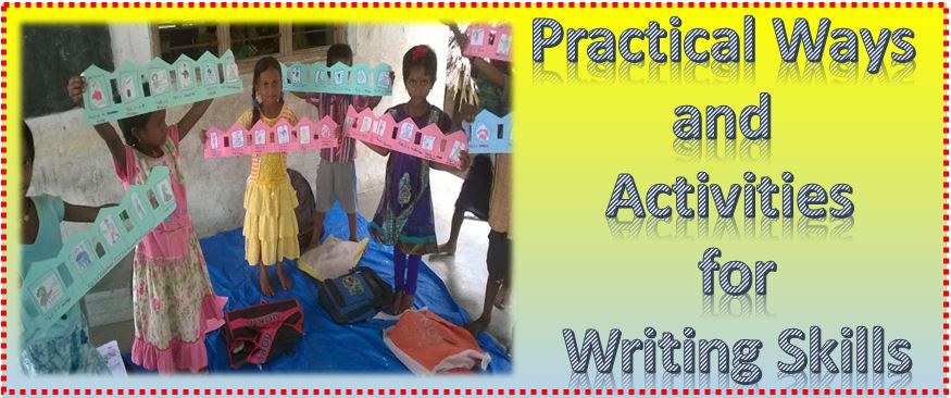 4 practical ways and activities to improve writing skills