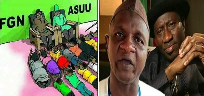 asuu strike lecturer sack