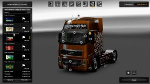 Czech Metallic Skin for Volvo 2009