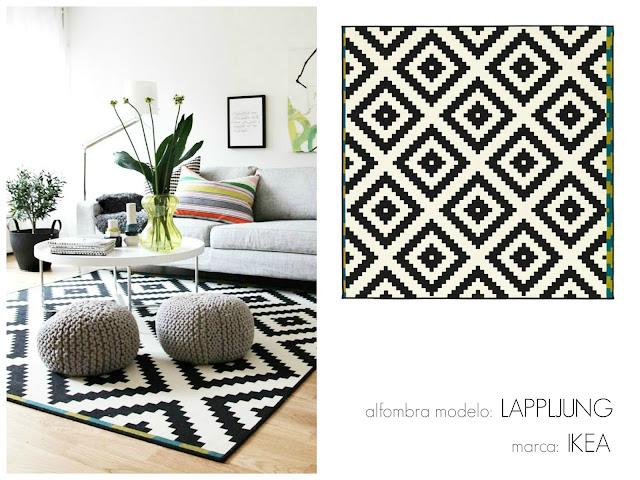 100 tonos de verde inspiraci n 8 ambientes y sus alfombras para imitarlos - Alfombra plastico ikea ...