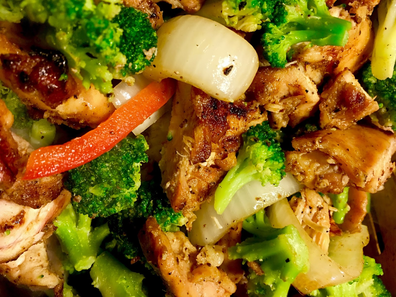 Low Carb Chicken And Broccoli Stir Fry