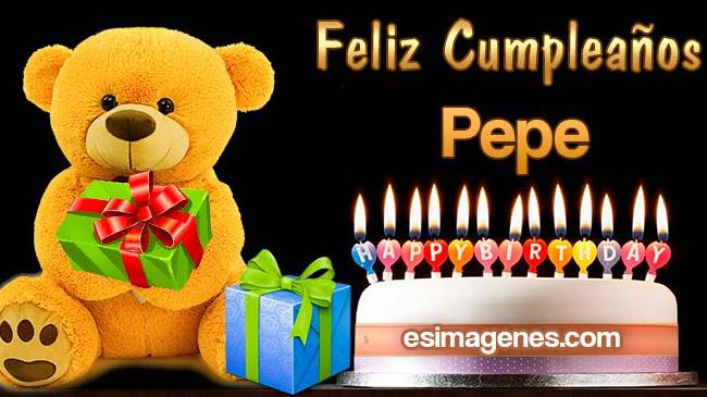 Feliz Cumpleaños Pepe