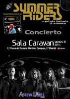 Concierto de Summer Riders en Sala Caravan